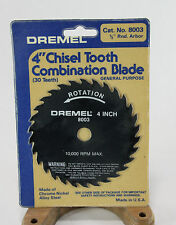 "Genuine Dremel 8003 4"" Table Saw Blade for Dremel 580 580-2 588 588-2 Table Saw"