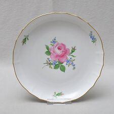 Meissen rose rouge et des Myosotis, gâteau bol 28.cm 1. choix, pev 682,- top