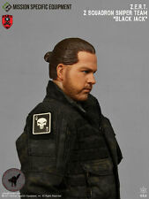 1/6 Action Figure Toy MSE ZERT Urban Sniper Jack Head Sculpt & Neck Joint XP4-33