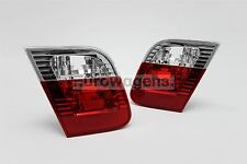 BMW 3 Series E46 02-05 Saloon Rear Inner Tail Lights Lamps Pair Set Left Right