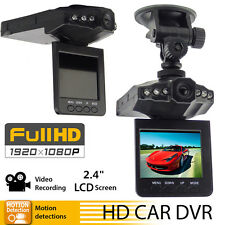 "New Full HD 1080P 2.4"" LCD Car DVR Camera Dash Cam Video Recorder Night Vision"