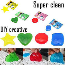 New Magic Sticky PC Keyboard Dust Dirt Cleaning Cleaner Soft Glue Gum Silica Gel