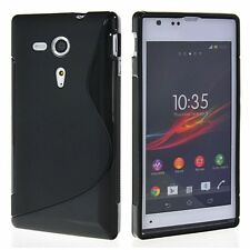 Premium Quality S-line Silicone Back Case For Sony Xperia SP