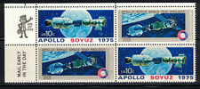 US 1975: #1569-1570 MNH Apollo/Soyuz Space Mr. Zip Blk4;Space Stations;Lot#4/20