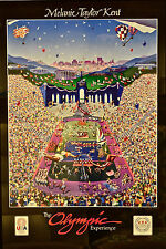 """1984 LA Olympic Poster/Print by Melanie Taylor Kent """"THE OLYMPIC EXPERIENCE!""""NEW"""