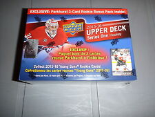 2015-16 UPPER DECK HOCKEY SERIES 1 WALMART SEALED BOX, PARKHURST/ MCDAVID?