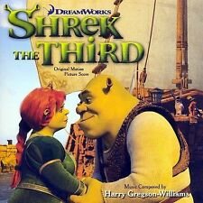 Shrek the Third Original Motion Picture Score by Harry Gregson-Wil   SEALED CD