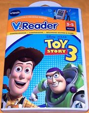 Vtech V.Reader Game TOY STORY 3 (3 to 5 Years) *NEW SEALED* SHIPS FREE Mon-Sat!