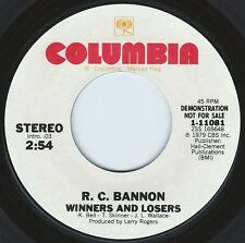 R.C. BANNON Winners And Losers ((**NEW 45 DJ**)) from 1979