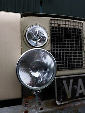 Classic Car Lotus Caterham Complete Head Light 7 Inch Driving Light, Rim & Loom