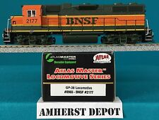 8965 Atlas HO GP 38 BNSF DCC Locomotive  NIB