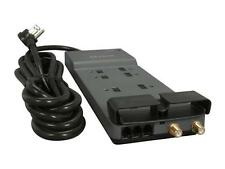 BELKIN BE108230-12 12 Feet 8 Outlets 3390 Joules Surge Protector w/ Telephone Li