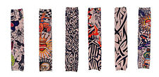 6 Pcs Compression Recovery Different Temporary Tattoo Printed Sleeves