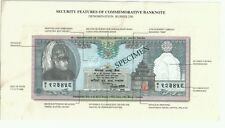 Nepal Commemorative  Banknote with folder UNC