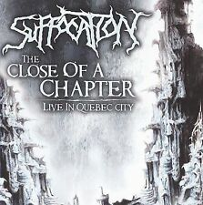 Close of a Chapter: Live in Quebec City by Suffocation (CD, Nov-2009, Relapse...