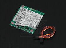 New YEP Brushless ESC Programming Card Heli Airplane 45a 80a 100a 120a HV US