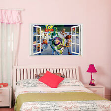 Toy Story 3 Window Removable Home Decor wall sticker Kids Boys Bedroom Decal