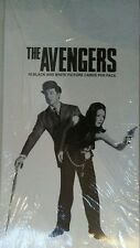 the avengers black and white card box