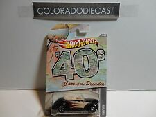 Hot Wheels Cars of the Decades Black '40 Ford