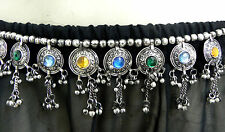NW Tribal Festival Belt Belly Dance Wrap Jewelry Kuchi ATS Boho Fashion Sari HOT