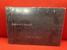 SEALED NEW MERCEDES BENZ SLR MCLAREN ROADSTER OWNERS MANUAL NEW SEALED NEW!!