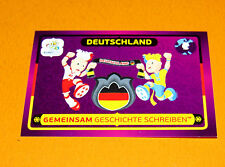 36 MASCOTTES DEUTSCHLAND ALLEMAGNE FOOTBALL PANINI UEFA EURO 2012
