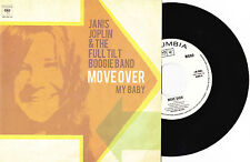 "Janis Joplin & The Full Tilt Boogie Band - Move Over / My Baby - 7"" US Vinyl 45"