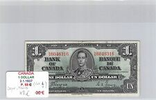 BILLET CANADA - 1 DOLLAR - 2.1.1937 - COYNE TOWERS