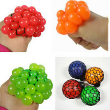 Creative Squishy Mesh Ball Anti Stress Reliever Grape Kids Relief Healthy Toys