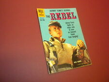 THE REBEL #1076 Dell Four Color 1960 tv western NICK ADAMS
