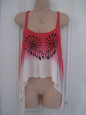 H&M Fashion Against Aids size 12 vest top layered look