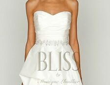 Monique Lhuillier Wedding Gown -  lable size: 8 street size: 6