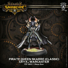 Warmachine Cryx Pirate Queen Skarre Classic Warcaster 34013 metal new