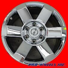 "NISSAN ARMADA PATHFINDER TITAN 18"" CHROME FACTORY ORIGINAL WHEEL RIM 62439-51338"
