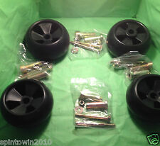 4 DECK WHEEL KITS JOHN DEERE AM133602 AM116299 M111489