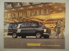 Vtg RARE Winnebago Conversion Custom Van Creppy Catalog Brochure Chevy