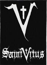 SAINT VITUS BACKPATCH / SPEED-THRASH-BLACK-DEATH METAL