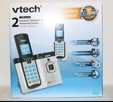 VTech DS6621-2 DECT 6.0 Expandable Cordless Phone with Bluetooth Connect to Cell