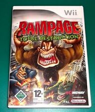 Rampage TOTAL destraction Nintendo Wii
