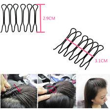4pcs Fashion Magic Hair Twist Styling Clip Stick Bun Maker Braid Tool New