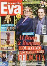 Eva 2016 21#Romina Power & Al Bano,Martina Stoessel,Fedez & Tiger Lily,Brad Pitt