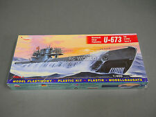 Mirage Hobby U-673  SUBMARINE Torpedo Boat   1:400  Model Ship Kit #ooB4