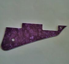 Pickguard for GIBSON LES PAUL Modern Style, 4ply Pearl purple