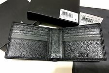 NEW DESIGNER HUGO BOSS WALLET 'PALLINO' 10 CREDIT CARD SLOT DURABLE BIFOLD BLACK