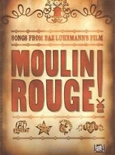 """""""Moulin Rouge"""" Soundtrack: For Piano, Voice and Guitar, PELICULAS, New B"""