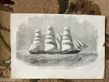 k1-6 ephemera 1863 picture east indian clipper seaforth