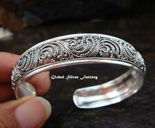 NEW MODEL Sterling Silver Women's Bangle SBB-343-PS