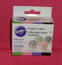 Candy Colors Garden, 4 set, Wilton, Oil based,.25oz,1913-1298, Multi-Color