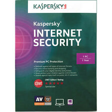 Kaspersky Internet Security 1 device 1 year 2017 downloadable version
