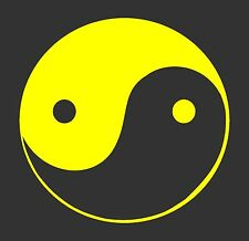 Yin Yang Decal / Sticker -Choose Size & Color- Philosophy, Chakra, Dao, Tai Chi